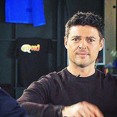 karl urban gif... Yeah, I'm pretty sure he said he wants me. I knew it.