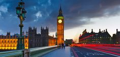 Big Ben is a the popular London tourist attraction at night. Pictures & Images of Big Ben Clock Tower, London. London City, Tower Of London, London Bridge, London Night, London Attractions, London United Kingdom, Houses Of Parliament, London Hotels, London Travel