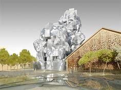 ARLES   Centre de l'Art   FRANK GEHRY   2014/2018   63M   En construction…