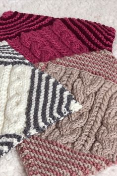 Knit along blanket squares for week 8 of A Day Out KAL by Sarah Hatton for Black Sheep Wools. An exclsuive blanket design with all patterns available to download from Black Sheep Wools. #adayoutkal #knitting #knitalong Black Sheep Wool, Blanket Design, How To Gain Confidence, Simple Colors, Pattern Names, Knitted Blankets, Days Out, Squares, Mosaic