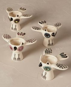 christmas gift ideas for cooks, owl egg cups