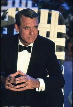 """❤️ such a beautiful man! Cary Grant (looks like this might have been from """"That Touch of Mink""""."""