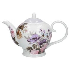 Wild Apricity Teapot - Katie Alice | Katie Alice Chocolate Pots, Chocolate Coffee, Tea Cup Saucer, Tea Cups, Mckenzie And Childs, China Teapot, China Dinnerware, Alice, Antique Dolls