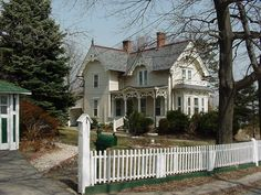 175 Belden St. Historic cottage located on City Island in the Bronx in New York City. It was built about 1880.