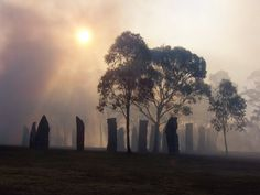 The Standing Stones At Craig Na Dun Scotland Where Claire