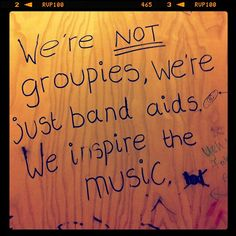Not groupies. but band aids Movie Archive, Almost Famous, Growing Up, Quotations, Cinema, Let It Be, Rock, Band, Awesome