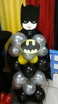 I love it! - Batman Party - Ideas of Batman Party - Batman. I love it! Avengers Birthday, Batman Birthday, Superhero Birthday Party, Boy Birthday, Birthday Party Snacks, 4th Birthday Parties, Birthday Party Decorations, Avenger Party, Superhero Balloons