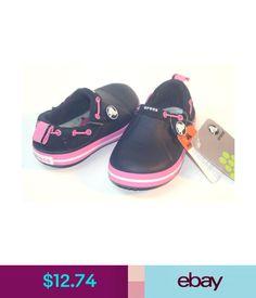 3ee55a5de5bc $12.74 - $35 Crocs Kids Girls Crocband Gust Navy Pink C9 C10 Clearance  #ebay #Fashion