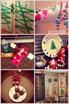 elf on the shelf ideas | Christmas
