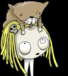 Lenore-The Cute Little Dead Girl. Also my craft name.