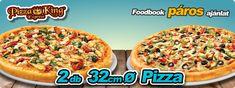 Pizza King páros 1890 Paros, Pizza, Mexican, Ethnic Recipes, Food, Essen, Meals, Yemek, Mexicans