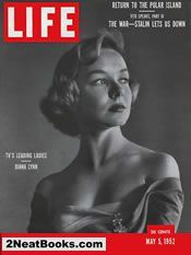 Diana Lynn life magazine cover: 5 May 1952