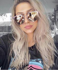 #Sunglasses #Fashion #Accessories Pinterest: @MakeupByVC