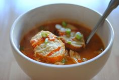 Buffalo chicken soup - dialysis friendly