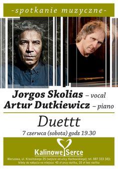 #kalinoweserce #spotkanie #muzyczne #jazz #Jorgas #Skolias #Artur #Dutkiewicz #koncert #duettt