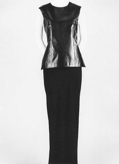 Ann Demeulemeester | Ensemble | Belgian | The Met
