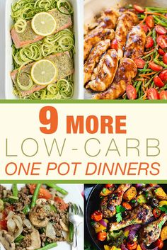 Now that the temperatures are dropping and the days are getting shorter, these easy 9 More Low-Carb One-Pot Dinners are just what you need...