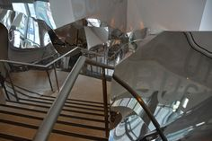 Inside the Frank Gehry-designed Dr Chau Chak Wing of the UTS. Photo Designer's Atelier