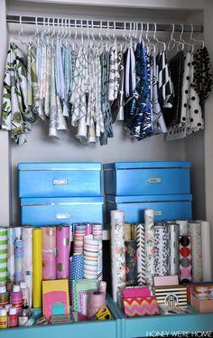 Fabric storage and organization