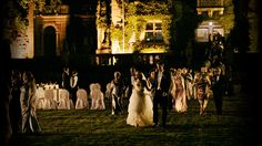 the wedding in Melancholia -- movie magic at its finest