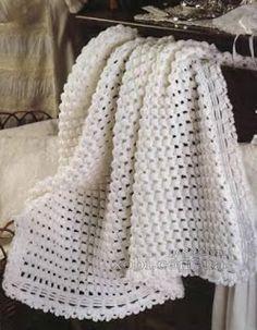 Crochet baby blanket pattern The pattern in written in English, using US crochet terms The pattern comes with: Plaid Au Crochet, Crochet Yarn, Crochet Stitches, Crochet Hooks, Free Crochet, Vintage Crochet Patterns, Crochet Blanket Patterns, Baby Blanket Crochet, Crochet Designs