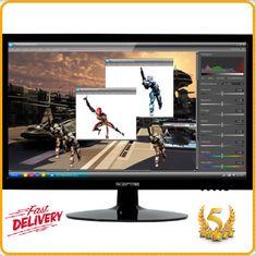 "Sceptre 20"" Diagonal LED Screen Monitor With Hdmi Dvi Vga Built-in Speaker NEW #Sceptre"