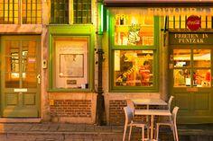 Vibrant colours in Ghent, Belgium.