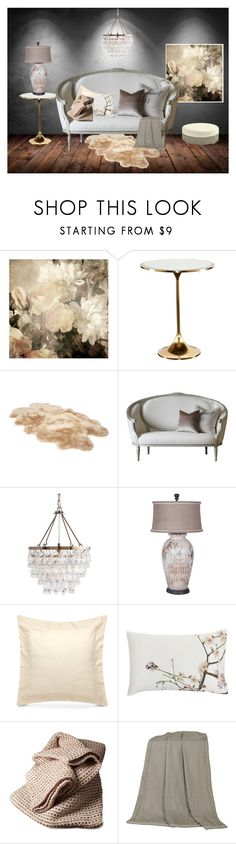 """Modern/Vintage Mix"" by majezy ❤ liked on Polyvore featuring interior, interiors, interior design, home, home decor, interior decorating, WALL, Kate Spade, UGG and Frette"