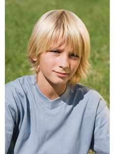 Kids Hair Styles: Kids Hair Styles Hair style for boys having medium hair