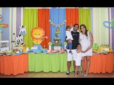 YouTube Baby Shower, Birthday Cake, Bb, Youtube, Centerpieces, Animals Of The Rainforest, Dessert Tables, Events, Fiestas