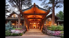 ICYMI: Magnificent Cabin in the Woods in Aspen, Colorado Aspen Colorado Cabins, Aspen Snowmass, Log Siding, Lawn Sprinklers, Tiny House Living, Large Homes, Cabins In The Woods, Gated Community, Fashion Room