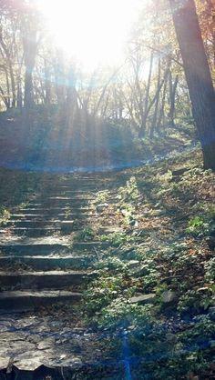 Hummell Park haunted steps, Omaha, NE.