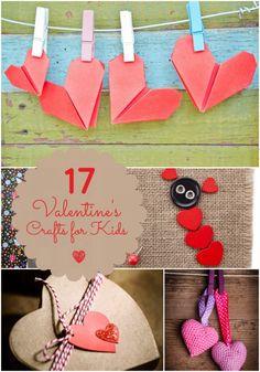 17 Valentine's Crafts for Kids