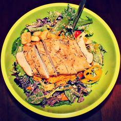Leftover Chicken Salad W/Greek Yogurt Ranch!