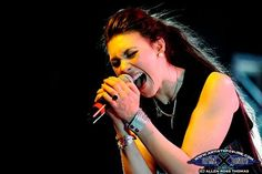 Elize Ryd of Amaranthe and Kamelot Power Metal Bands, The Agonist, Alissa White, Symphonic Metal, Rocker Chick, Metal Girl, Band Merch, Metalhead, Rock N Roll
