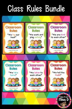 This Social Skills/Classroom Rules Bundle will teach your students about working and playing safely. A great addition for any K - 2 classroom! The Classroom Rules Bundle includes these 7 Tales From Miss D Resources: Being Kind Being Safe Listening Taking Care Of Belongings Taking Turns Telling The Truth Trying Our Best © Tales From Miss D