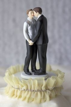 Funny Gay Wedding Cake Toppers