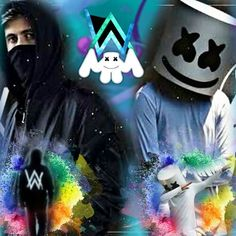 Photos, Drawings and Gif alan walker VS marshmello Musik Wallpaper, Marvel Wallpaper, Cute Anime Wallpaper, Dope Wallpapers, Animes Wallpapers, Marshmello Wallpapers, Dj Images, Joker Pics, Allen Walker