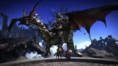 Final Fantasy XIV Heavensward Game Screenshot 3