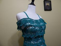 Vestido para Dama Crochet parte 2 de 3