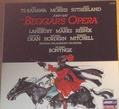 The Beggar's Opera John Gay Angela Lansbury Kiri Te Kanawa Vinyl Classical Soundtrack Record Album by RASVINYL on Etsy