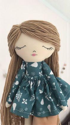 Little Wildwood Dolls Diy Rag Dolls, Sewing Dolls, Diy Doll, Knitted Dolls, Crochet Dolls, Cupcake Dolls, Doll Eyes, Doll Hair, Soft Dolls