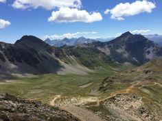 Auf dem Weg zum Parpaner Rothorn, Lenzerheide Kanton Graubünden. Foto vom 3.8.2015