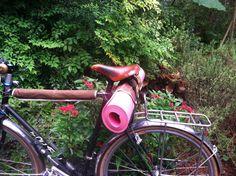 Bolsa de bicicletas accesorios, yoga marrón on Etsy, 22,59€