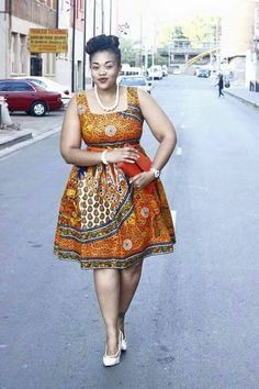 Put on some Ankara and show it more respect. Give scary parts some sunlight. The excuses have truly run out; rock these plus-size short Ankara dresses; Short Ankara Dresses, African Print Dresses, African Dresses For Women, African Wear, African Attire, African Women, African Prints, African Inspired Fashion, Latest African Fashion Dresses