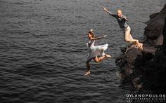 Jumping in the caldera by Giorgos Galanopoulos on 500px