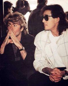 """ in China George Michael Music, Michael Love, Beautiful Voice, Beautiful Men, 20th Century Music, George Michel, Andrew Ridgeley, Love Band, Star Wars"