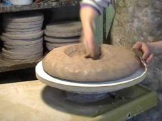 Throwing Large Bowl: Part 1 - YouTube