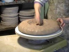 Throwing Large Bowl: Part 1 - YouTube
