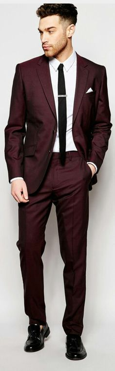 ZACH Bridesman suit! Don't like shiny, but color good, black shirt underneath